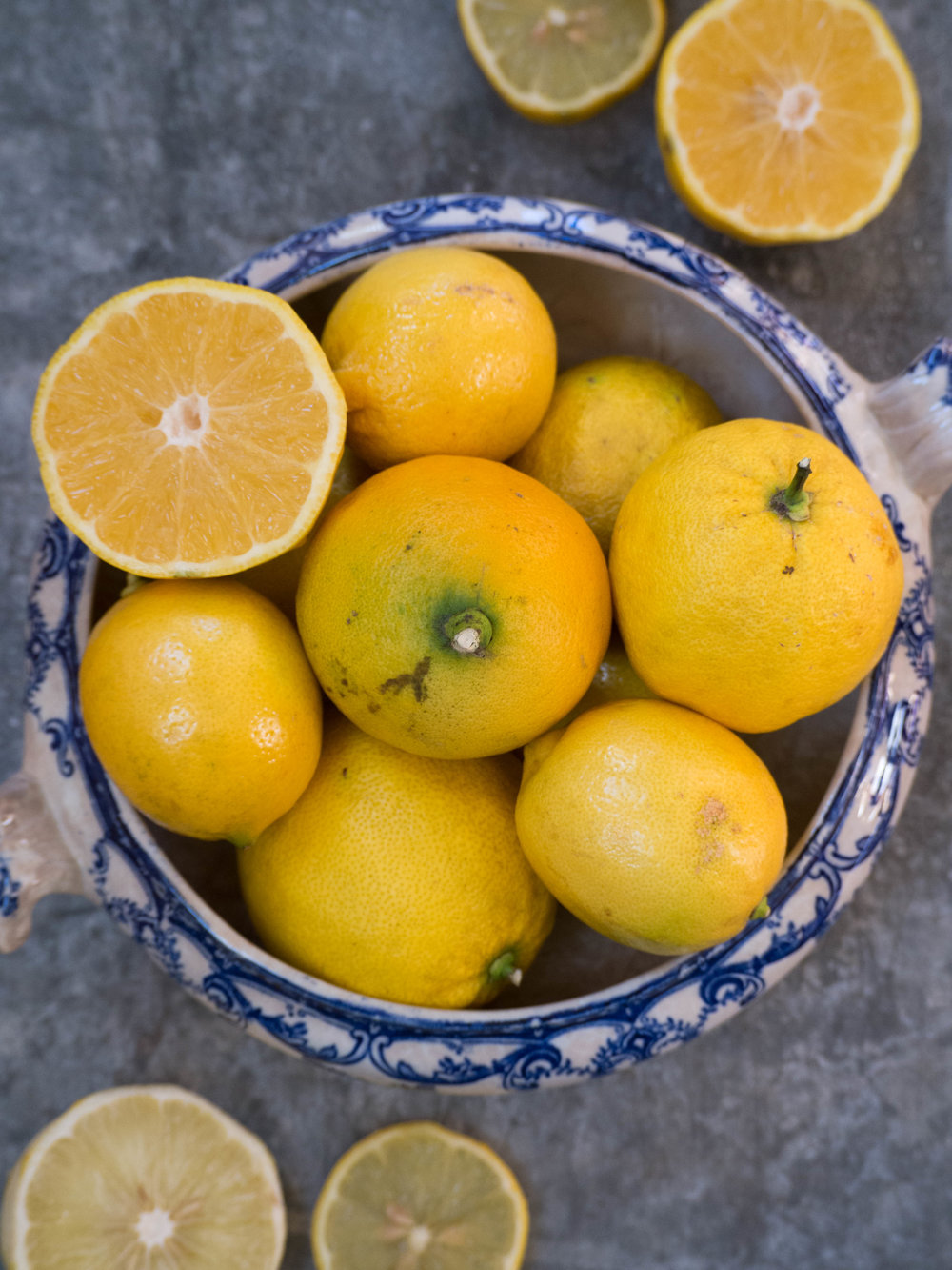 Winter Citrus - Lemons, Bergamots & Lemonades