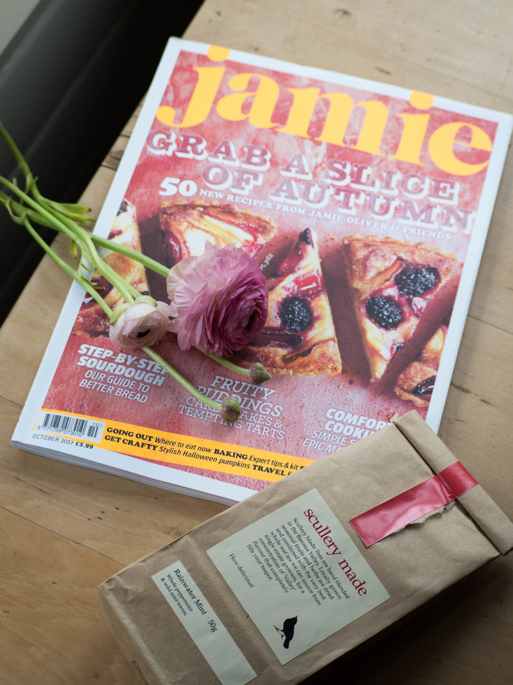 Jamie Magazine & Scullery Made Tea