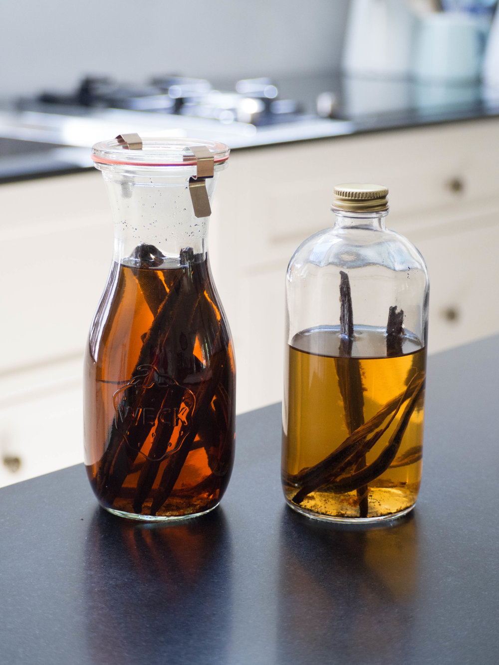 Vanilla Extract Four Months