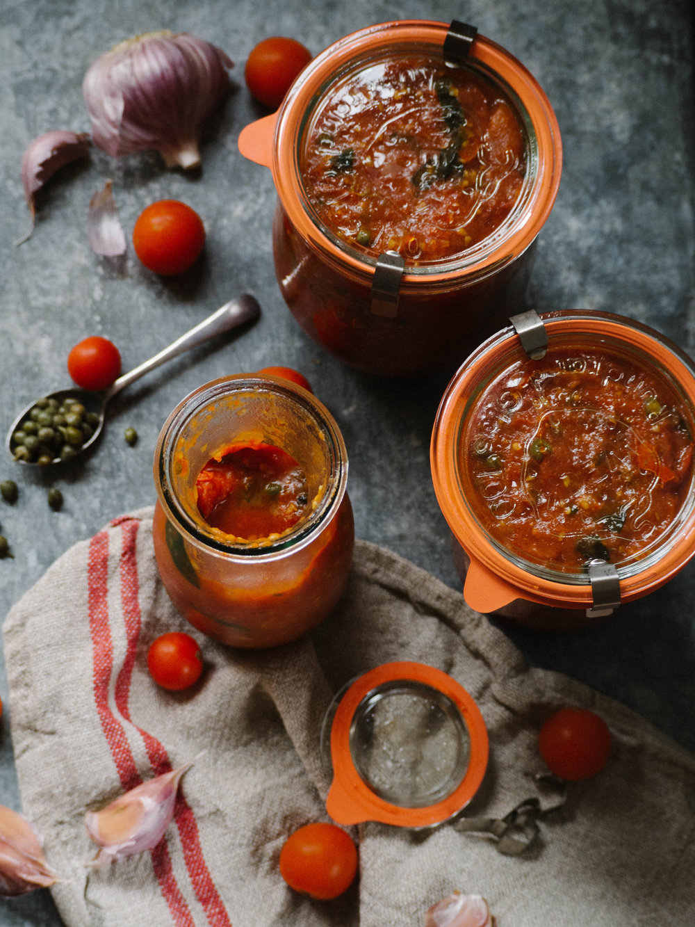 Homemade Chunky Tomato Sauce