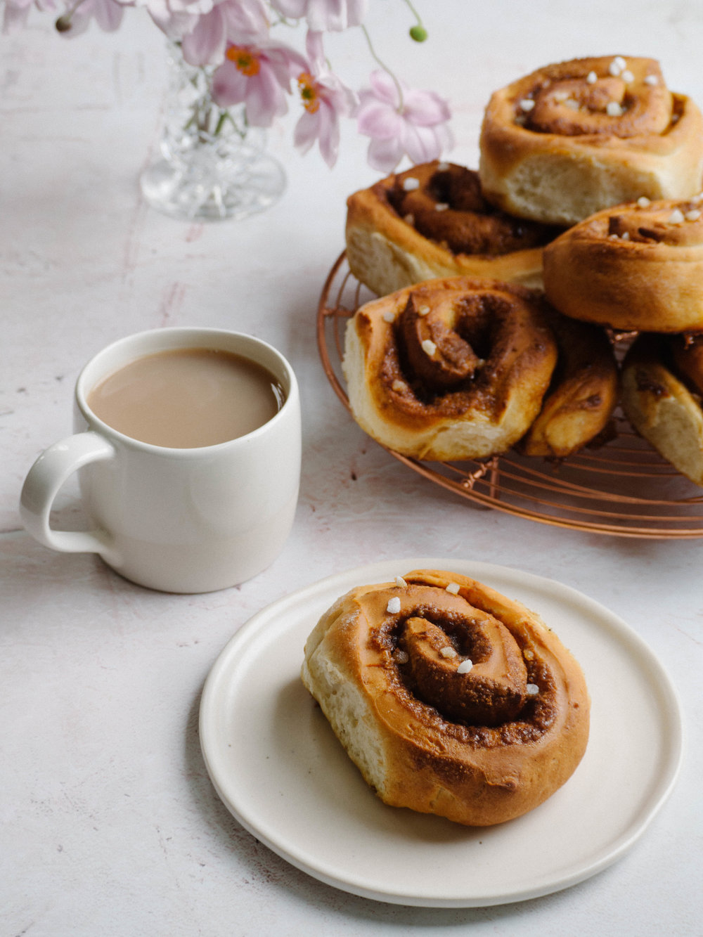Low FODMAP Easter Spiced Brioche Scrolls