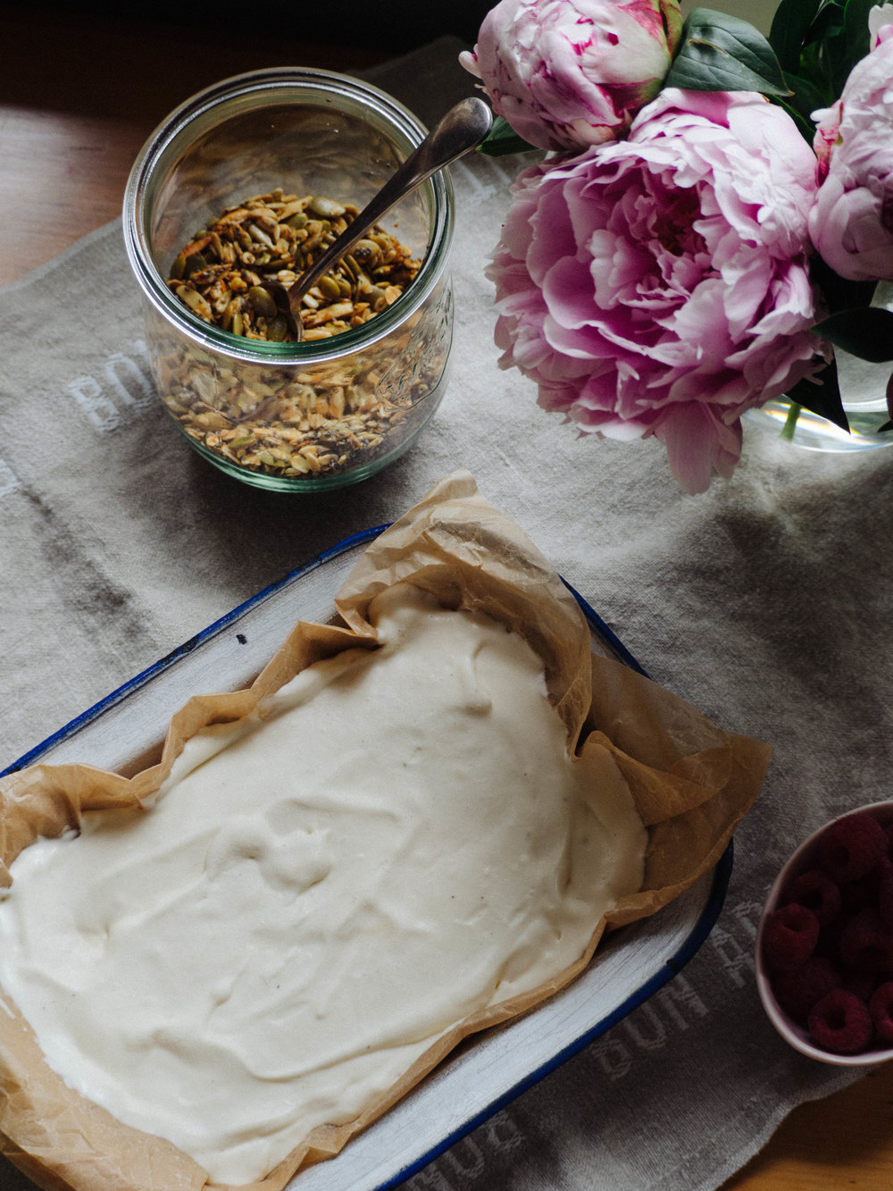 Honey Ice Cream made using Little Big Dairy Co Honey Malt and Vanilla Milk
