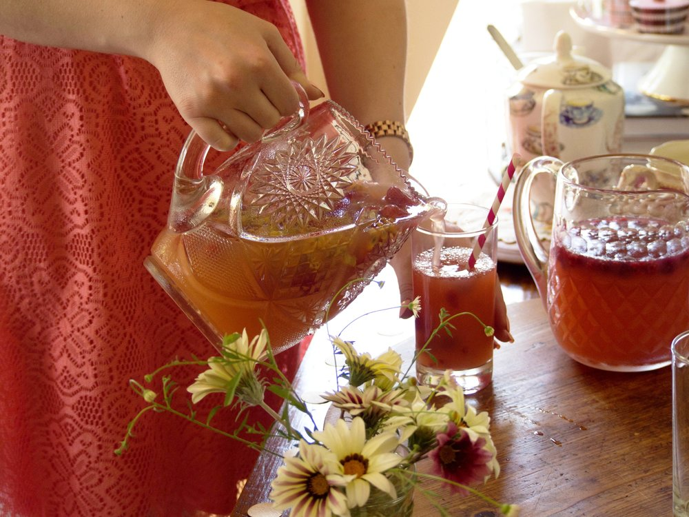 Passionfruit & Strawberry Iced Tea