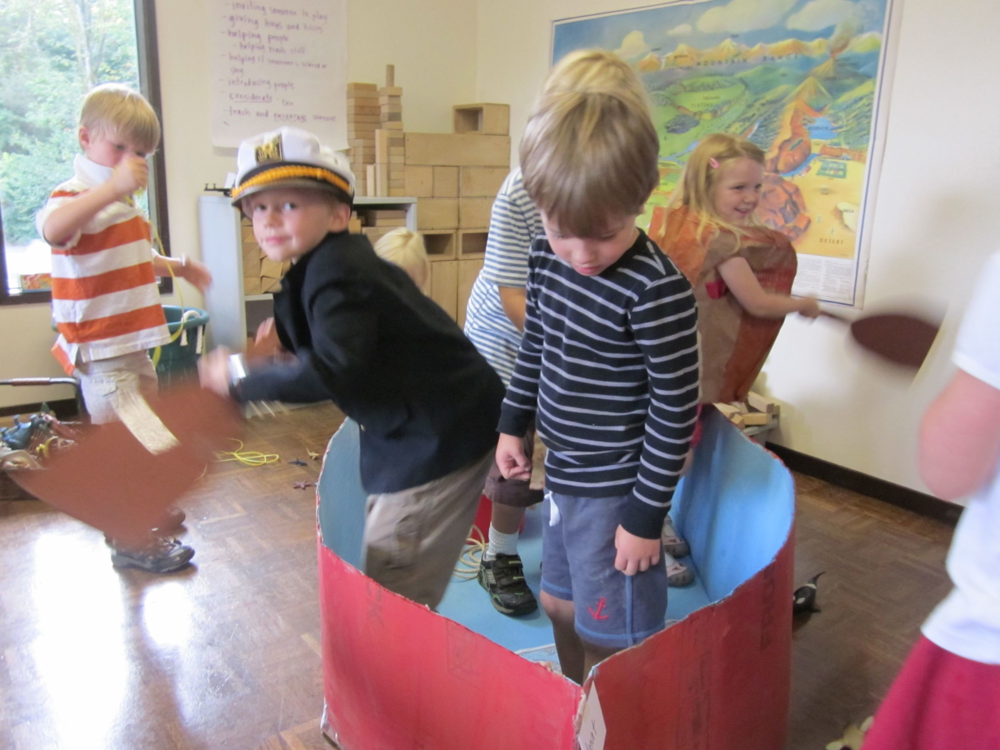 Arbor Primaries paddle off on a Choice Time journey inspired by their thematic curriculum.