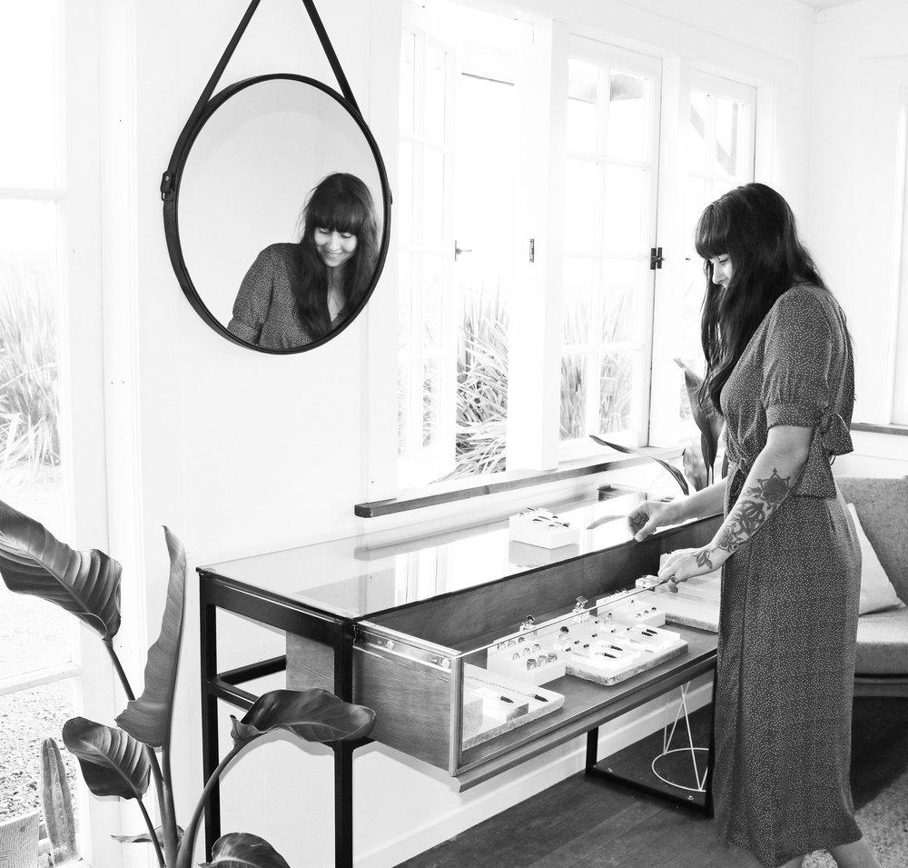 Courtney Marama. Marama Jewellery Studio