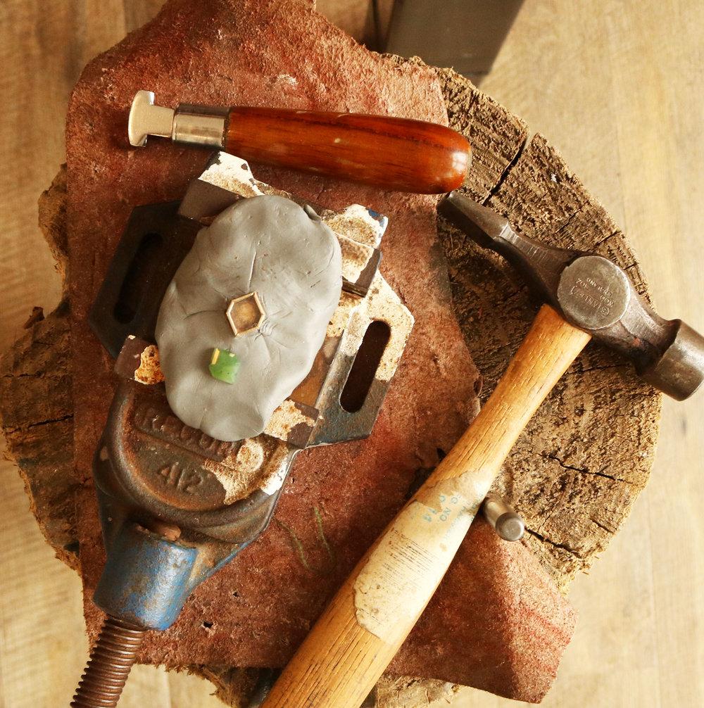 Marama Jewellery Process