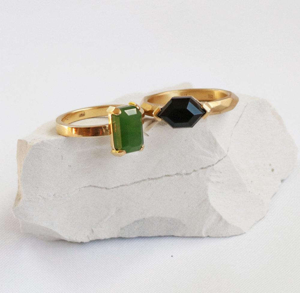 Wedding Rings by Courtney Marama