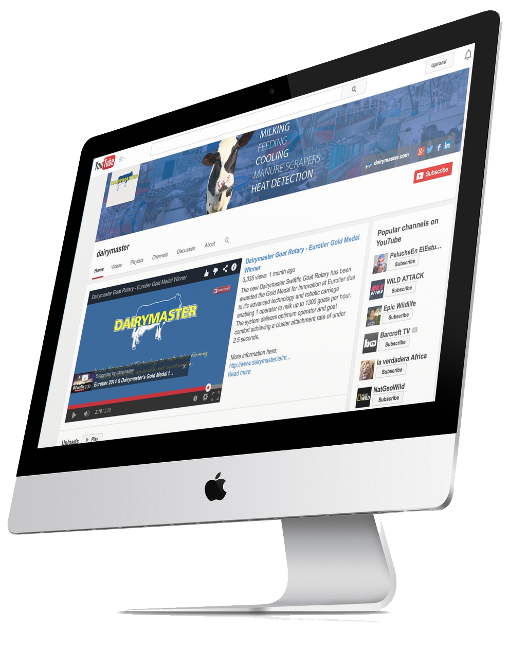 Dairymaster Youtube Channel