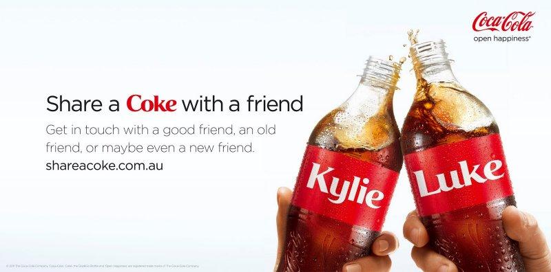 'Share a Coke' Campaign