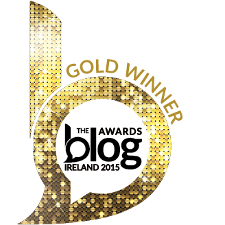 Blog Awards Ireland Gold Winner