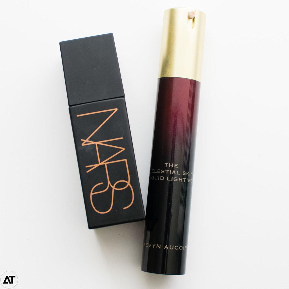 NARS Liquid Laguna & Kevyn Aucoin Celestial Skin
