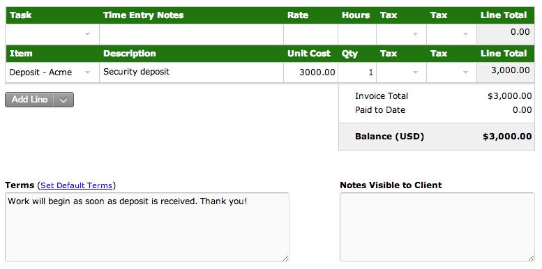 Invoice #ACME-1
