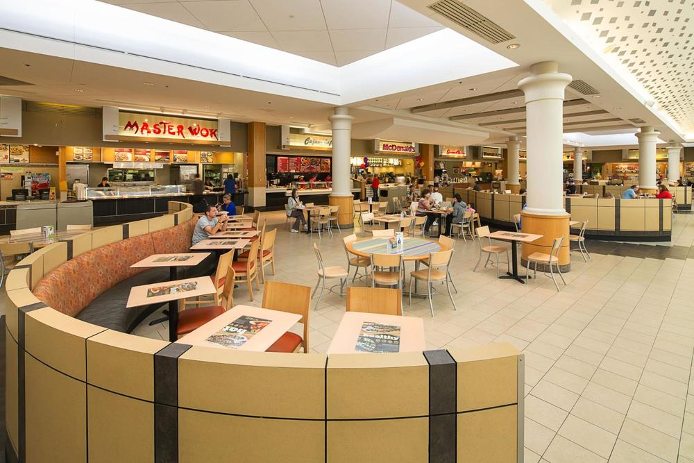Natick Mall Food Court, courtesy of the  Massachusetts Office of Transportation .