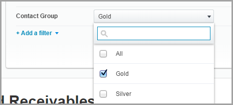 As an example, you can now filter the Aged Receivables report by Contact Group in Xero.