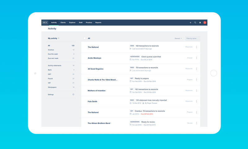Xero HQ and the new Activity Feed will be available in November.