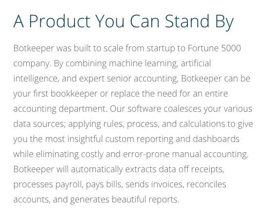 """Excerpt from the """"   Become a Botkeeper Partner   """" webpage"""