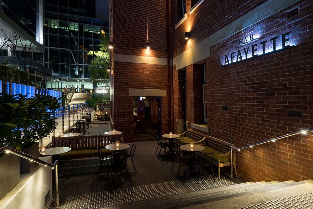 Bar Lafayette - Brookfield Place, 125 St Georges Terrace, Lower Georges Lane, Perth WA 6000