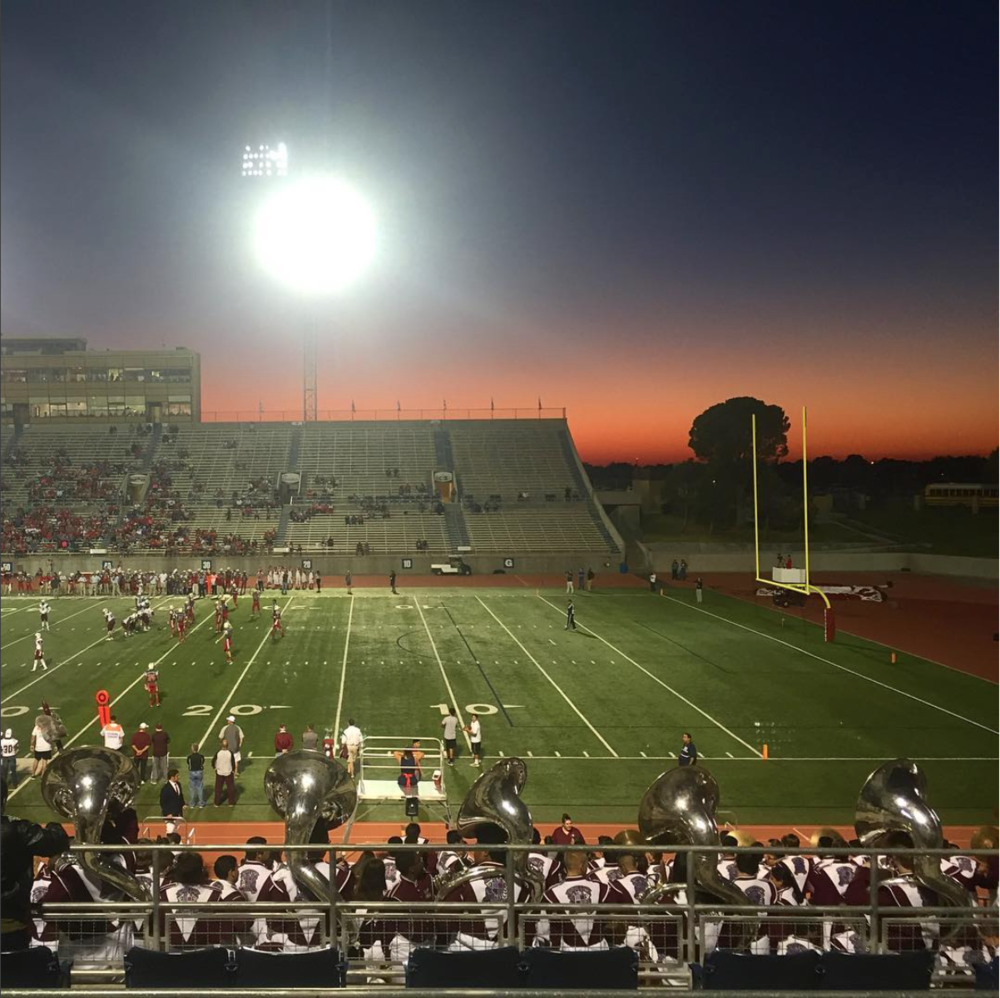 Odessa, TX. Ratliff Stadium.  Friday night lights  #SnapshotLives