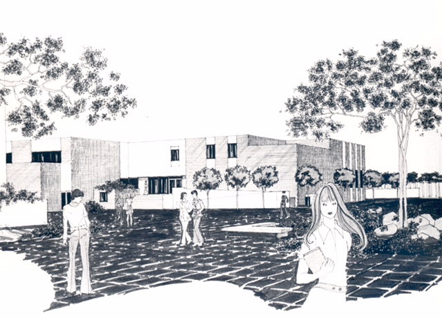 Moulton Hall Rendering