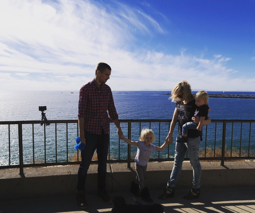 pic taken at Inspiration Point in Corona Del Mar