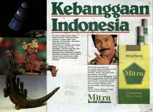"""Kebanggaan Indonesia"" - Pride of Indonesia. Source: iklanretroindonesia.blogspot.co.id."