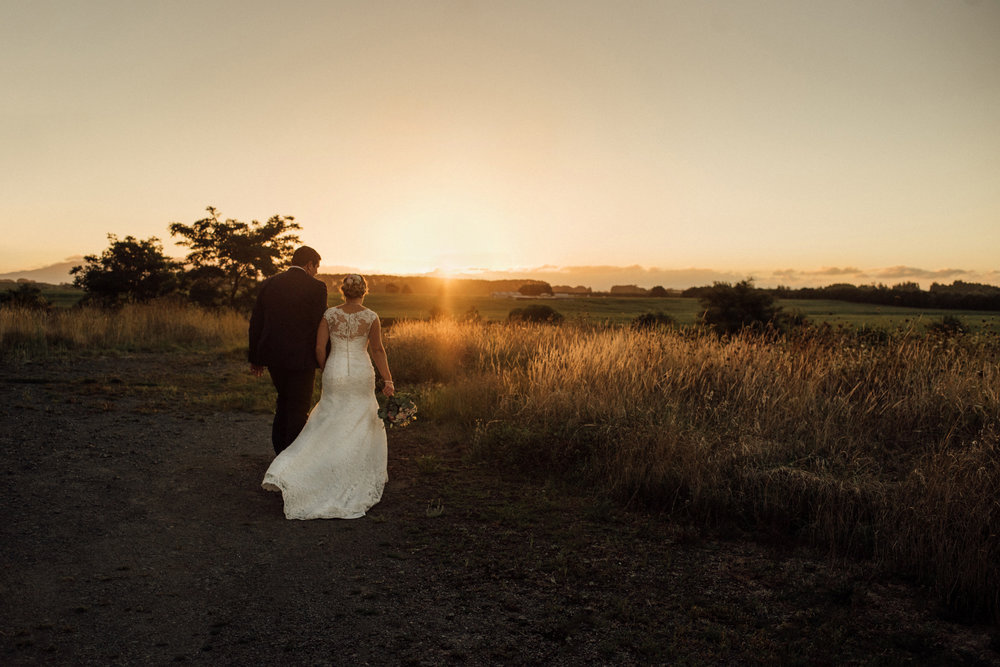 Wedding photography Waikato The narrows Landing sunset