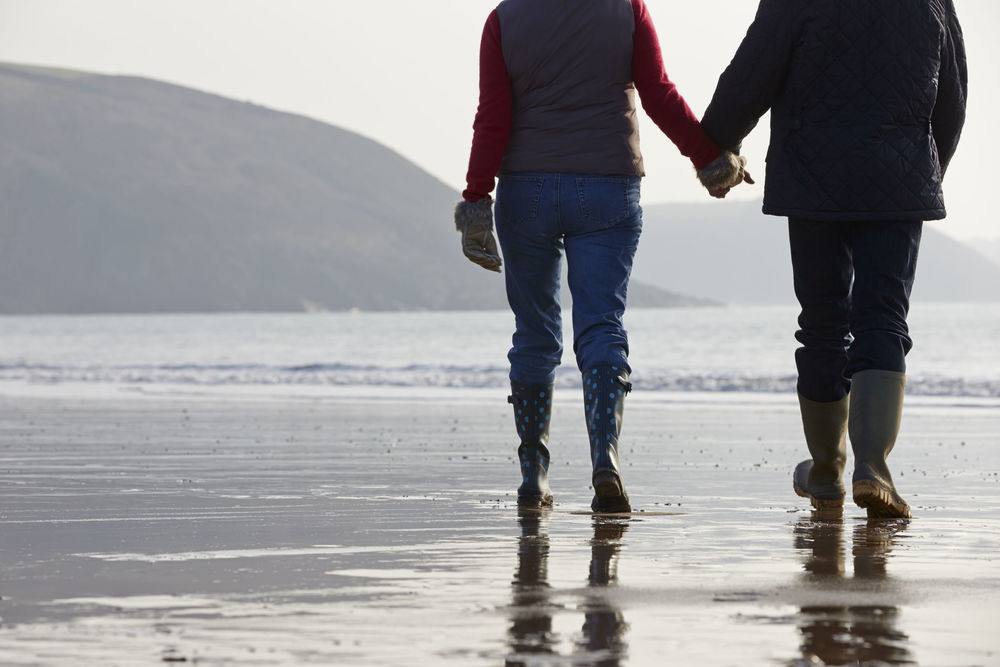 Great way to spend time with loved ones (which is healthy itself) is to walk with them. (holding hands is optional)