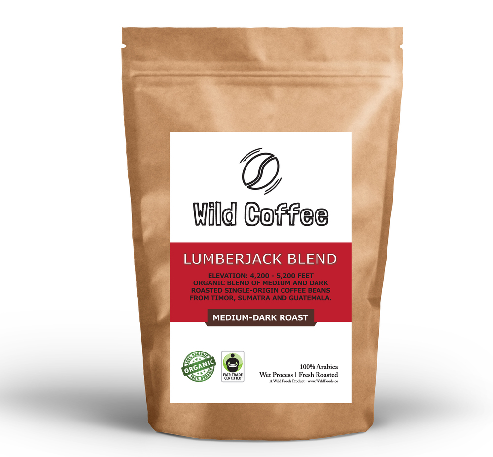 Wild Coffee Organic Fair Trade Coffee