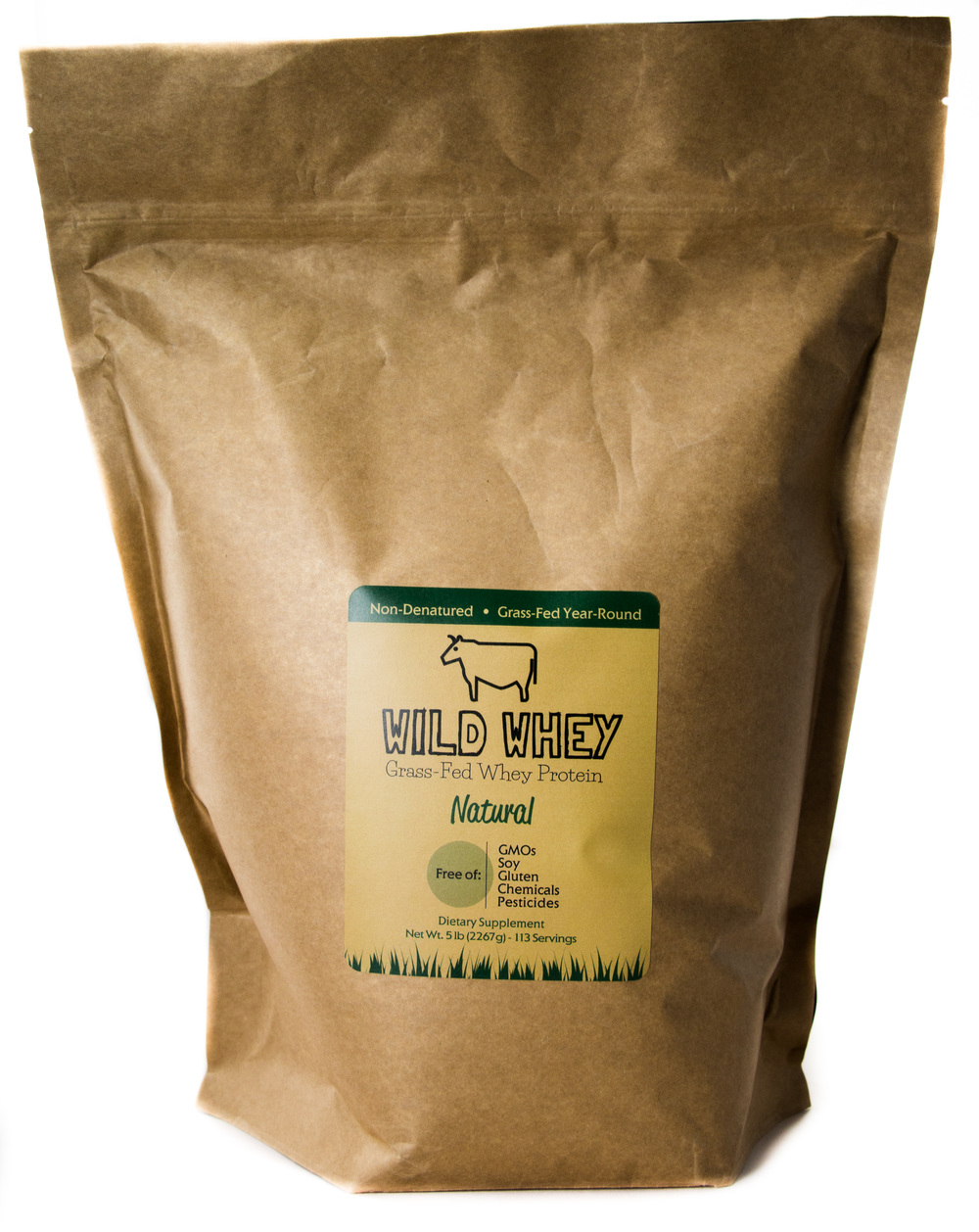 Our 2.5lb and 5lb bulk Natural Flavor options come in environmentally-friendly food bags.