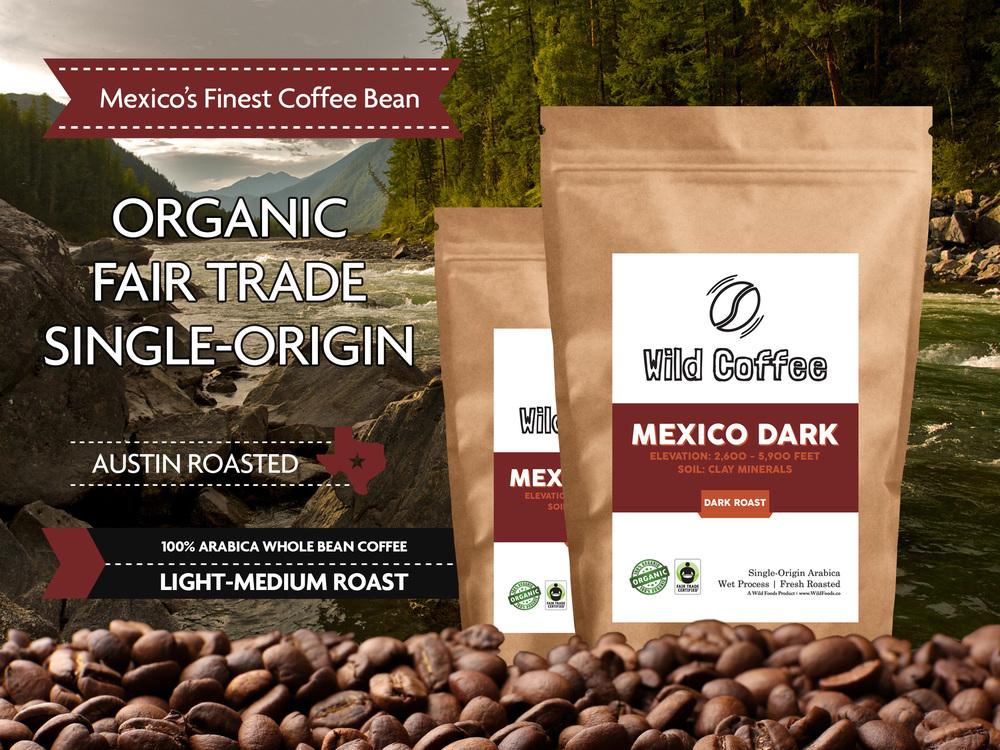 Mexico coffee beans organic fair trade