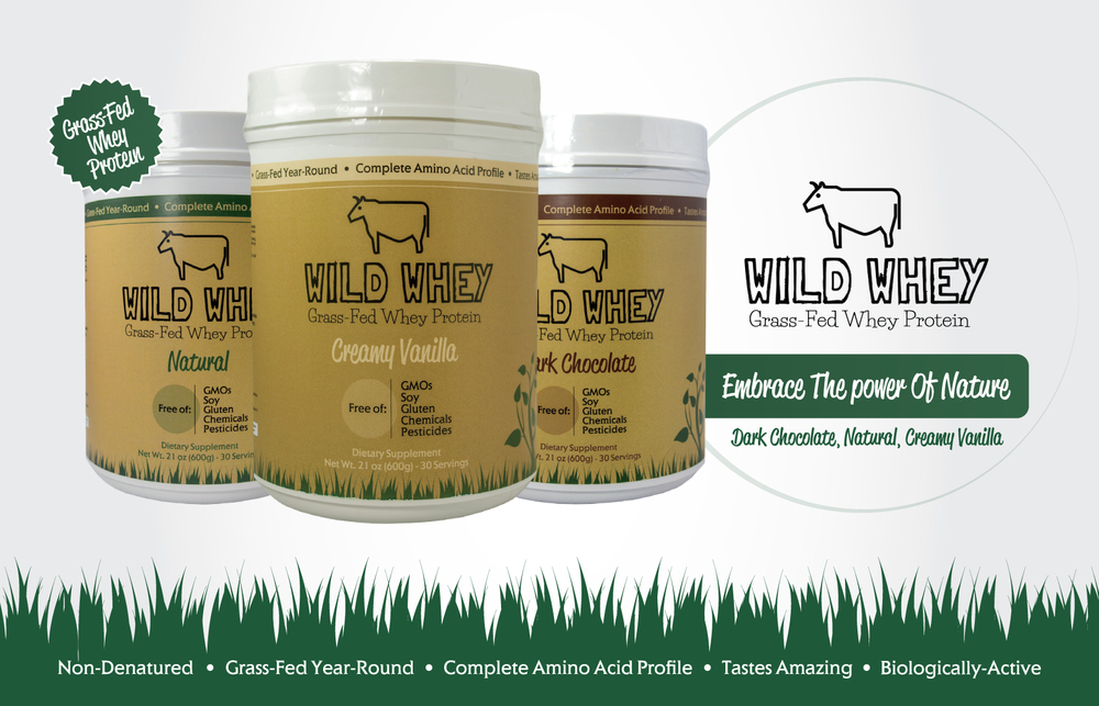 grass-fed protein natural protein wild whey