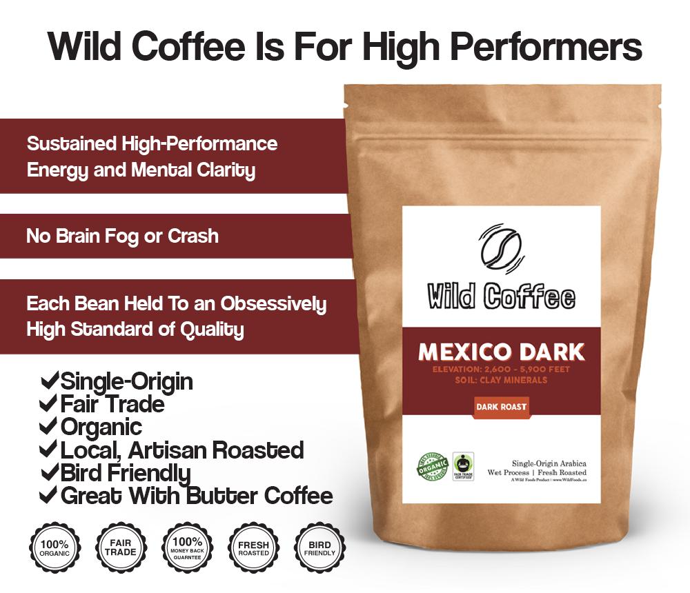 Mexico Dark Coffee beans