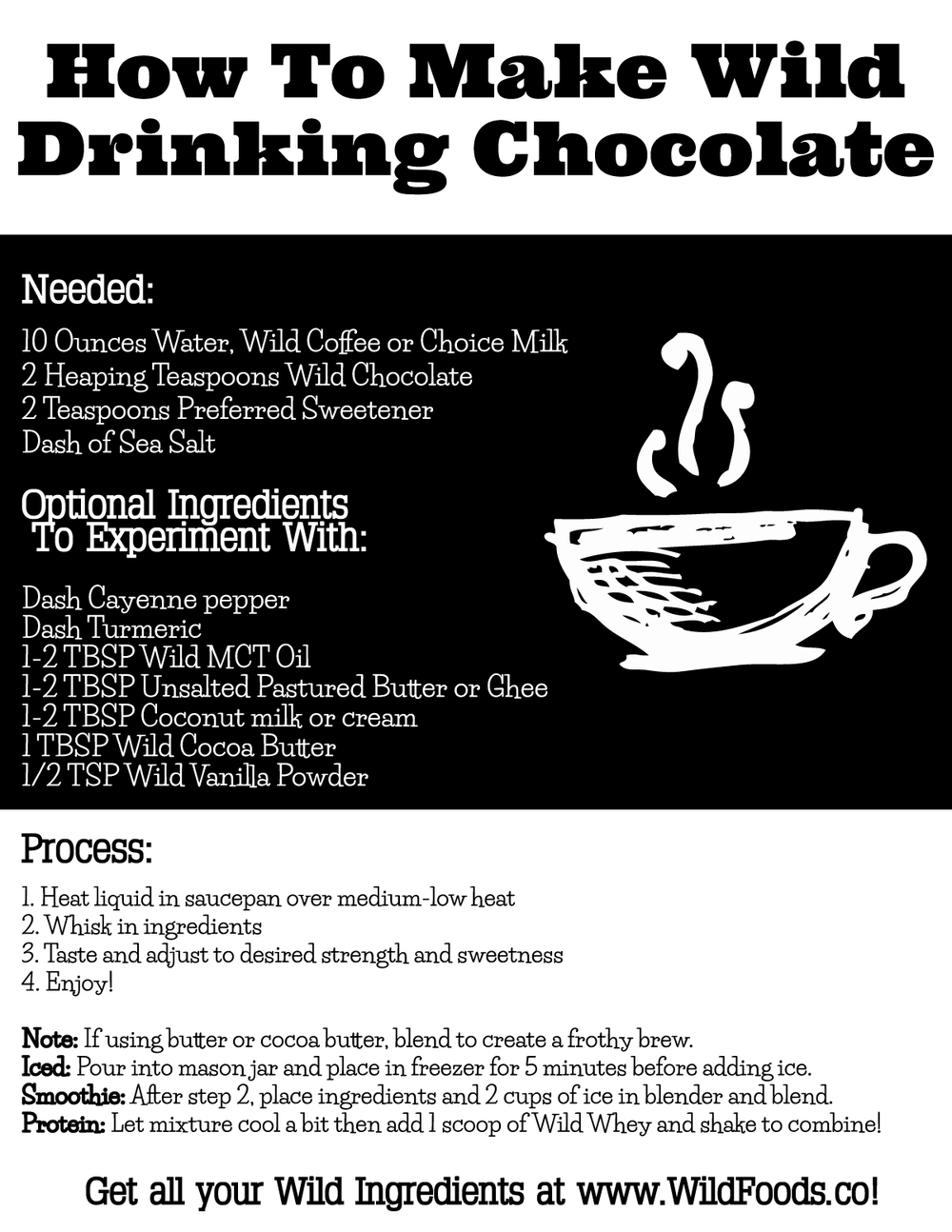 drinking cocoa recipe