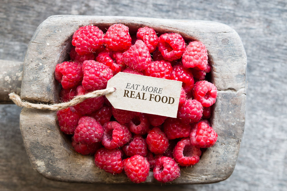 eat more real food and thrive