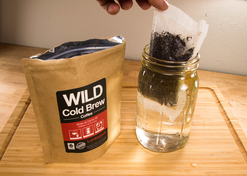 fresh cold brew coffee