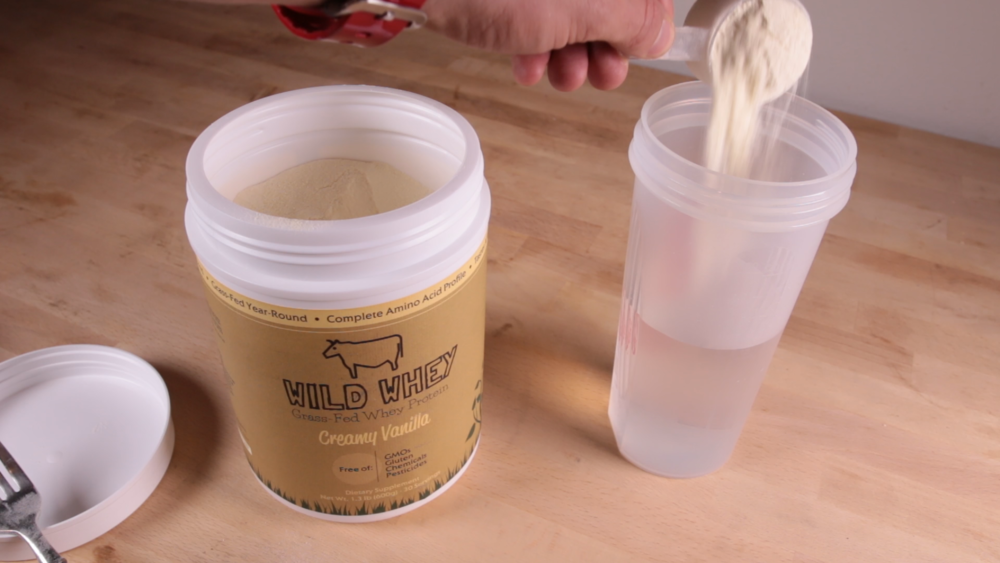 #2: Add 1 scoop of Wild Whey