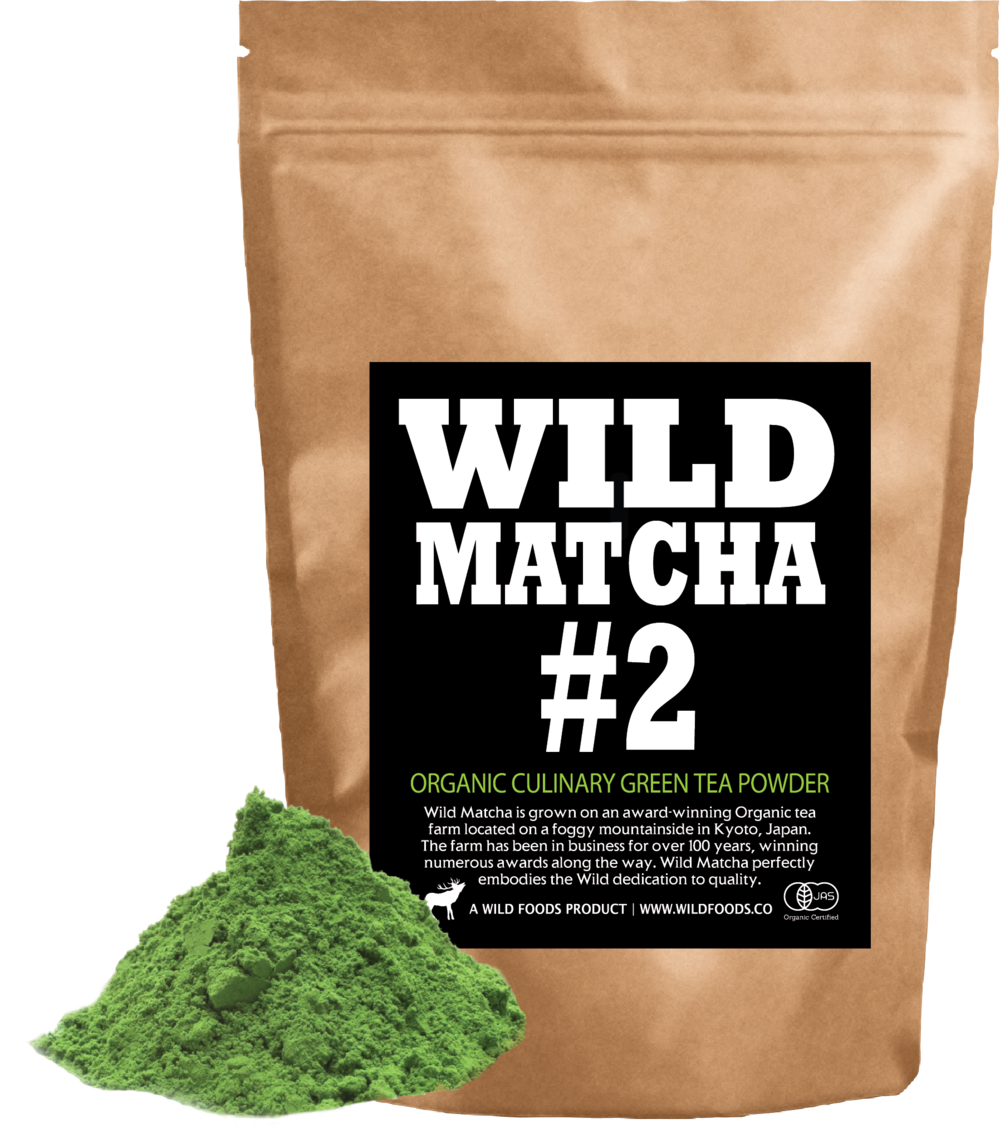organic green tea wild matcha