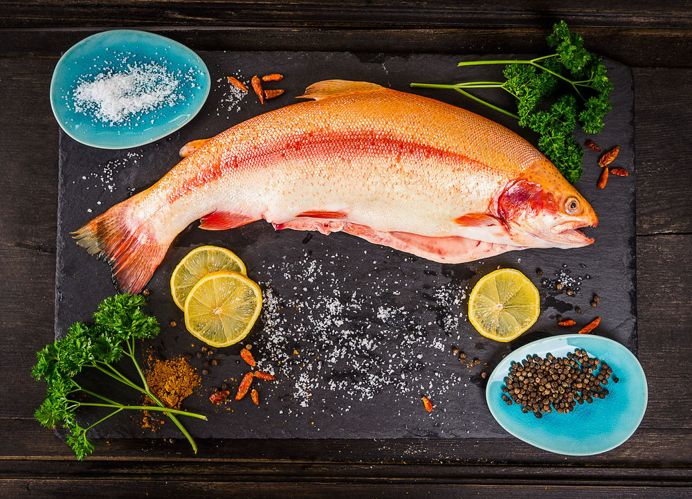 wild caught fish full of healthy omega-3 fish oil