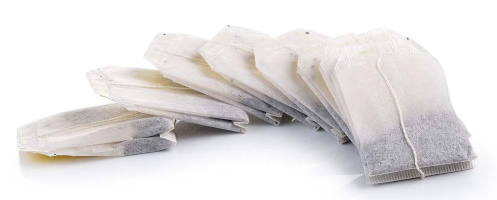 Usually contain dust particles and produce fast-extracted, bitter cups of tea. If you like tea bags, buy your own cloth bags and fill them yourself with quality loose leaf tea.