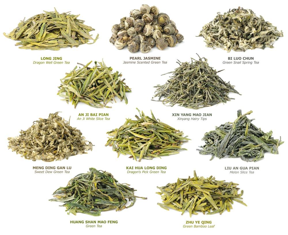 famous green teas