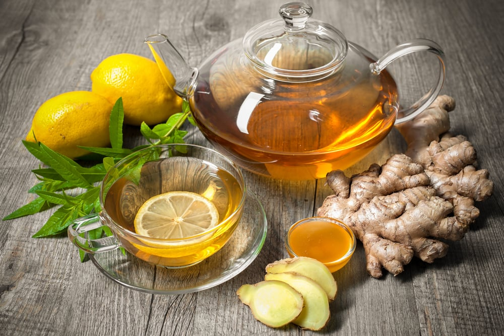 make ginger tea at home