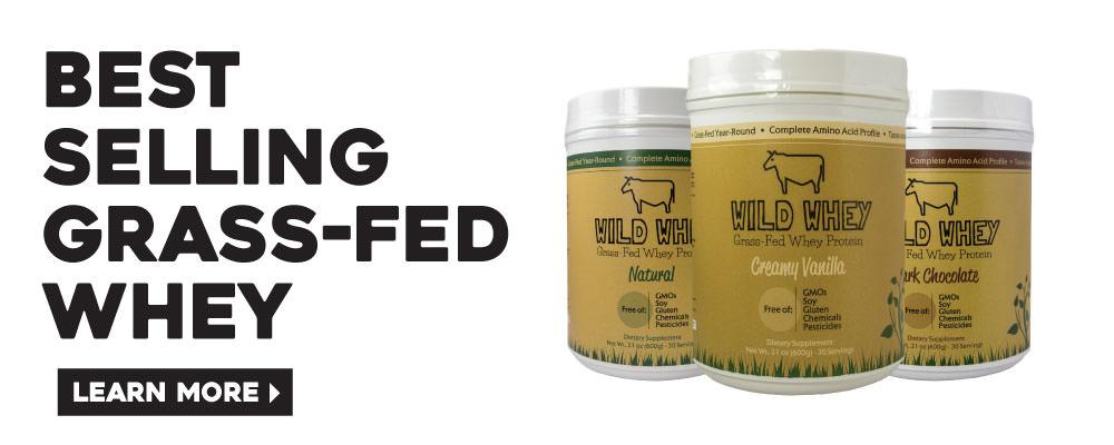 grass-fed whey protein wild whey