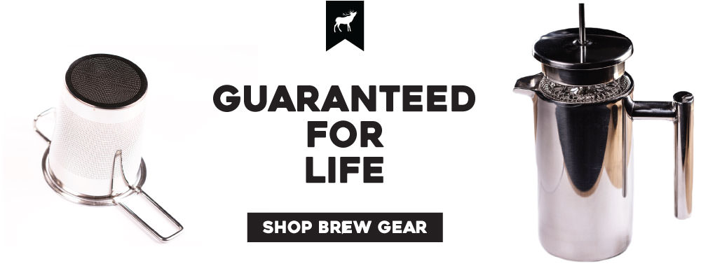 tea brewing gear