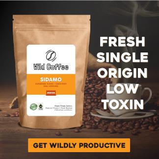 Wild coffee - low toxin organic coffee beans