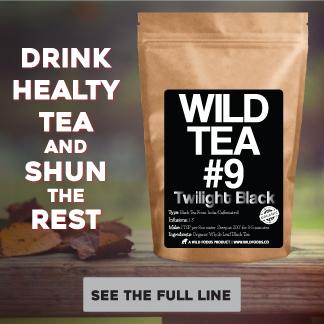 Wild Tea - Organic premium tea that's good for you