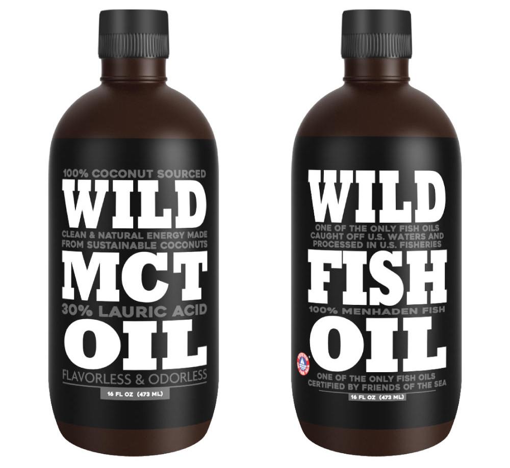 fish oil and mct oil wild foods
