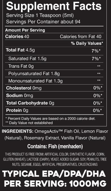 wild fish oil menhaden oil