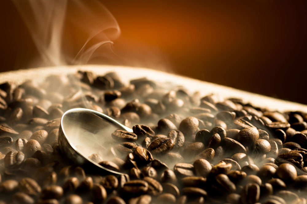 organic, fresh roasted coffee beans toxin-free