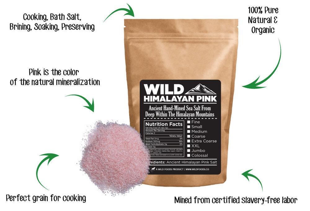 pink salt infographic