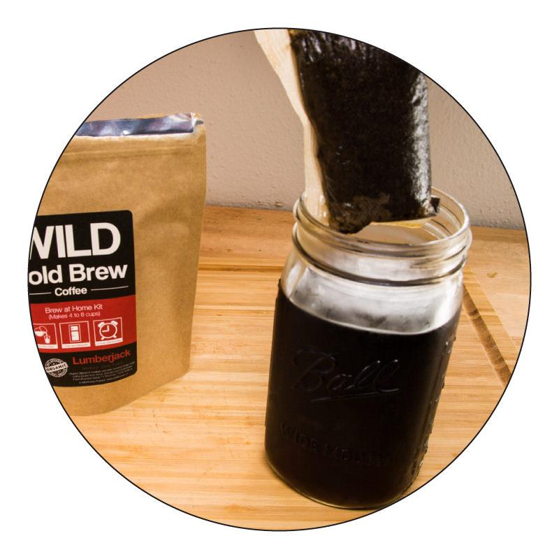 remove cold brew pouch